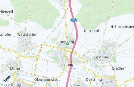 Stadtplan Hepberg