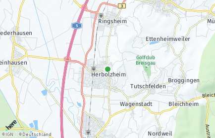 Stadtplan Herbolzheim