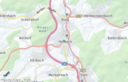 Stadtplan Herborn