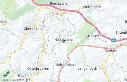 Stadtplan Herchweiler