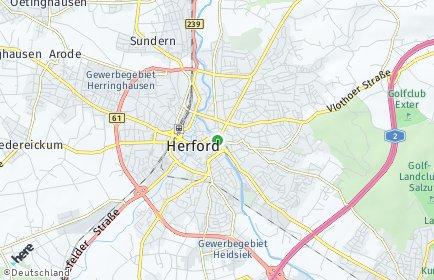 Stadtplan Herford