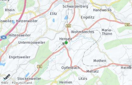 Stadtplan Hergatz