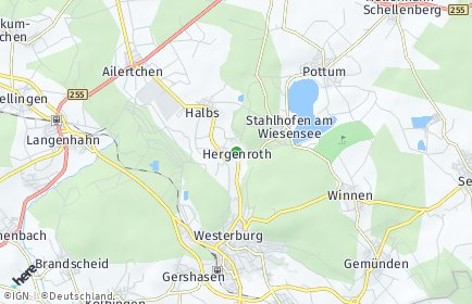 Stadtplan Hergenroth