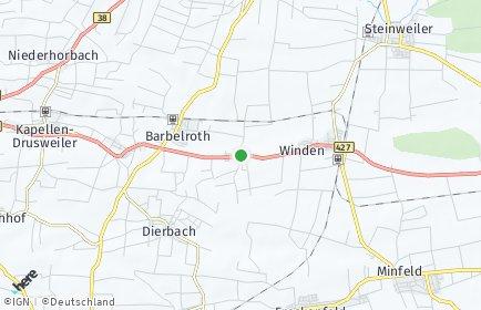 Stadtplan Hergersweiler