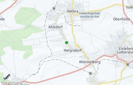 Stadtplan Hergisdorf