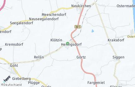 Stadtplan Heringsdorf (Ostholstein)