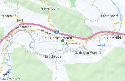 Stadtplan Herleshausen