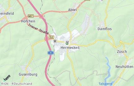 Stadtplan Hermeskeil