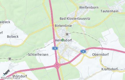 Stadtplan Hermsdorf