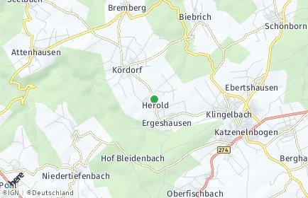 Stadtplan Herold