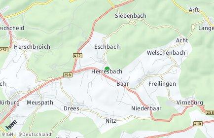 Stadtplan Herresbach