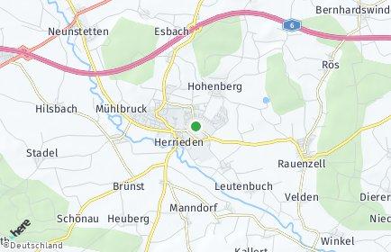 Stadtplan Herrieden