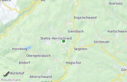 Stadtplan Herrischried