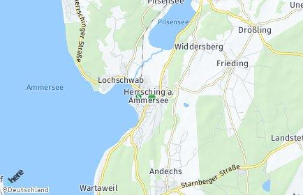 Stadtplan Herrsching am Ammersee
