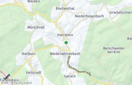 Stadtplan Herrstein