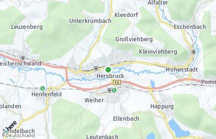 Stadtplan Hersbruck