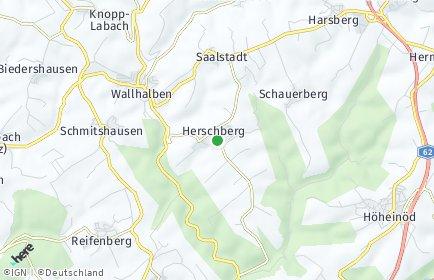 Stadtplan Herschberg