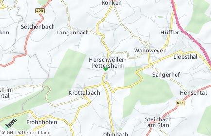 Stadtplan Herschweiler-Pettersheim