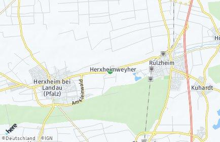 Stadtplan Herxheimweyher