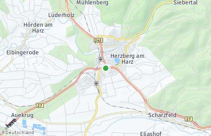 Stadtplan Herzberg am Harz