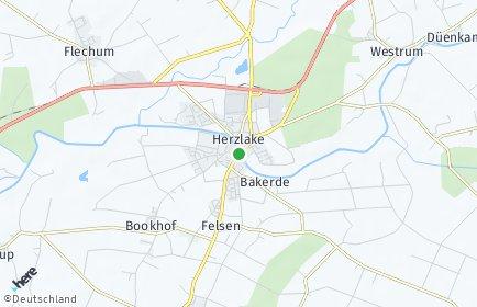 Stadtplan Herzlake