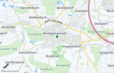 Stadtplan Herzogenaurach