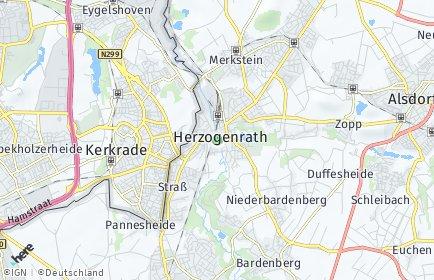 Stadtplan Herzogenrath