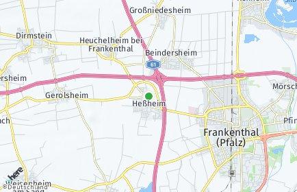 Stadtplan Heßheim