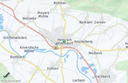Stadtplan Hessisch Oldendorf