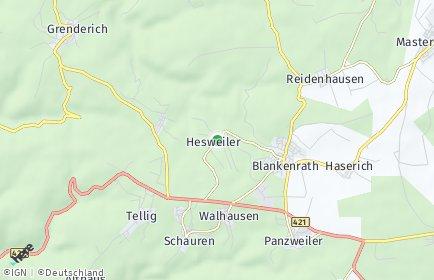 Stadtplan Hesweiler