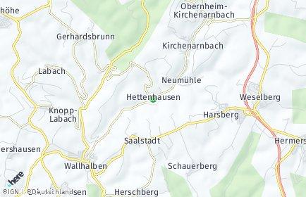 Stadtplan Hettenhausen