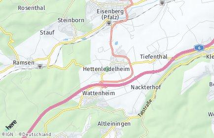 Stadtplan Hettenleidelheim