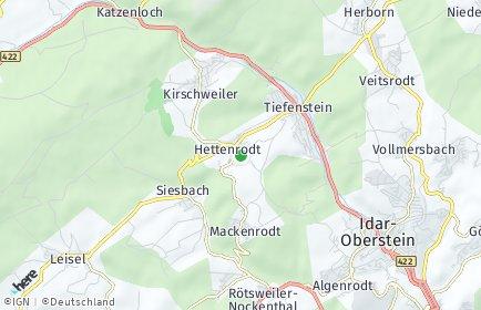 Stadtplan Hettenrodt