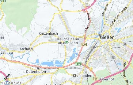 Stadtplan Heuchelheim (Hessen)