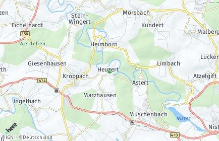 Stadtplan Heuzert