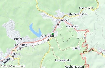 Stadtplan Hilchenbach