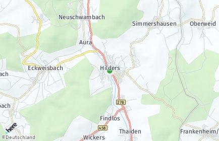 Stadtplan Hilders