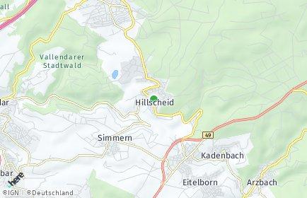 Stadtplan Hillscheid