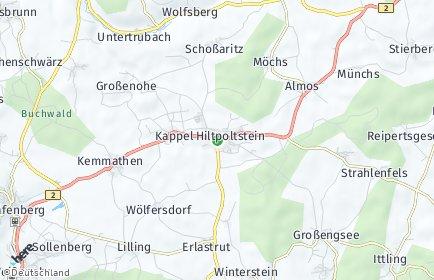 Stadtplan Hiltpoltstein