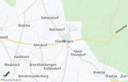 Stadtplan Himbergen