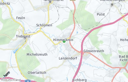 Stadtplan Himmelkron