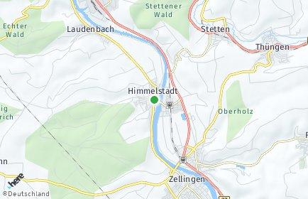 Stadtplan Himmelstadt