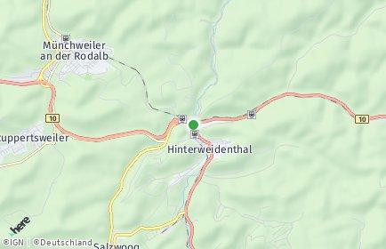 Stadtplan Hinterweidenthal