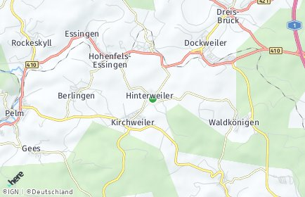 Stadtplan Hinterweiler