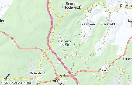 Stadtplan Hinzert-Pölert
