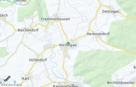 Stadtplan Hirrlingen