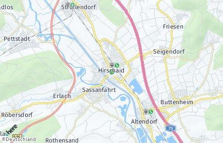 Stadtplan Hirschaid