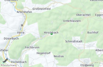 Stadtplan Hirschbach