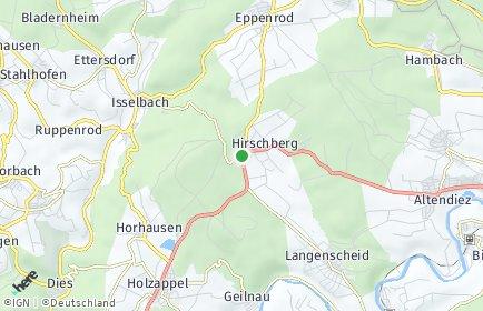 Stadtplan Hirschberg (Rhein-Lahn-Kreis)