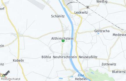Stadtplan Hirschstein